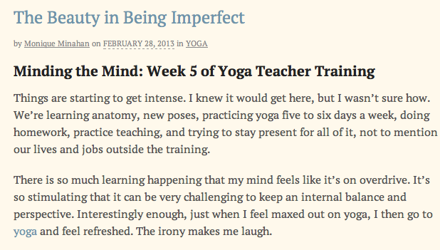 Intent Blog