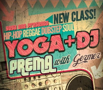 DJ Yoga One flyer