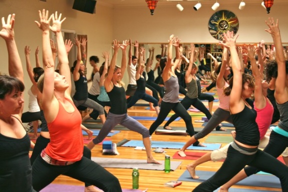 Crescent Lunge at Yoga One