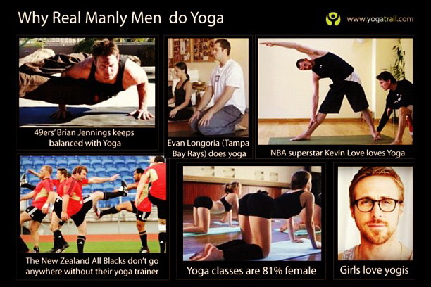Why Men Do Yoga