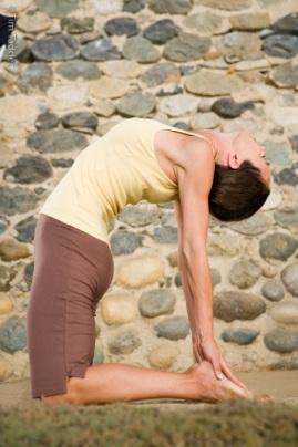 Yoga One San Diego camel pose