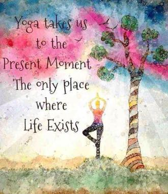 yoga present moment