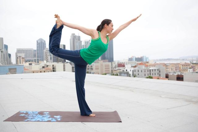 Yoga One rooftops